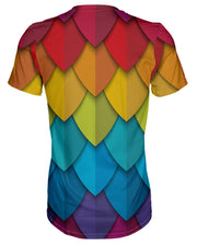 Rainbow Feathers T-shirt