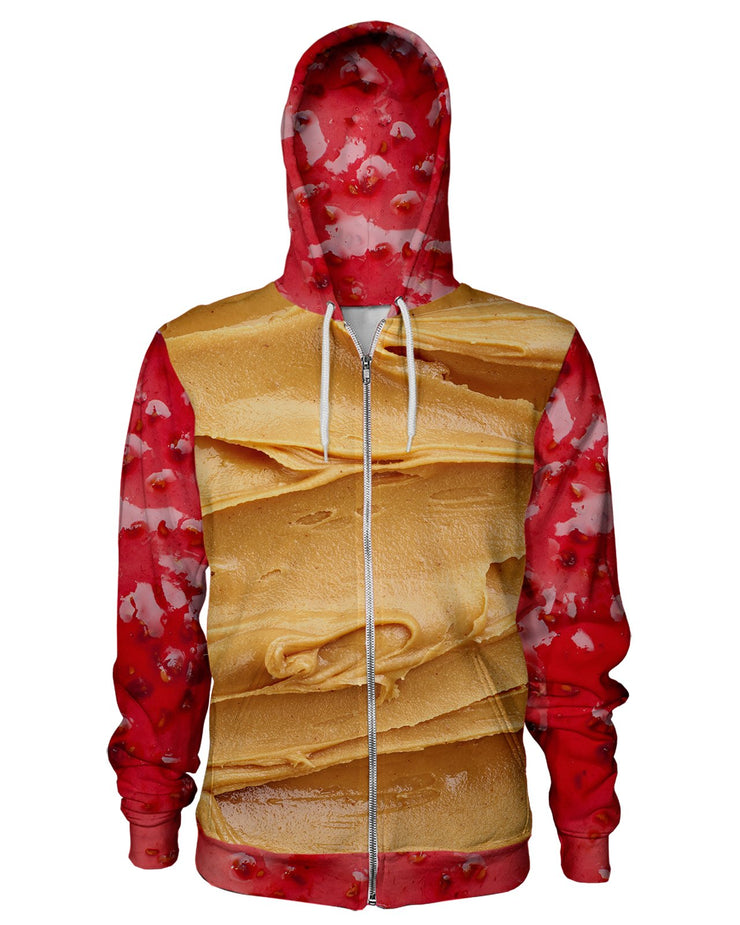Peanut Butter and Jam Women's Zip Hoodie