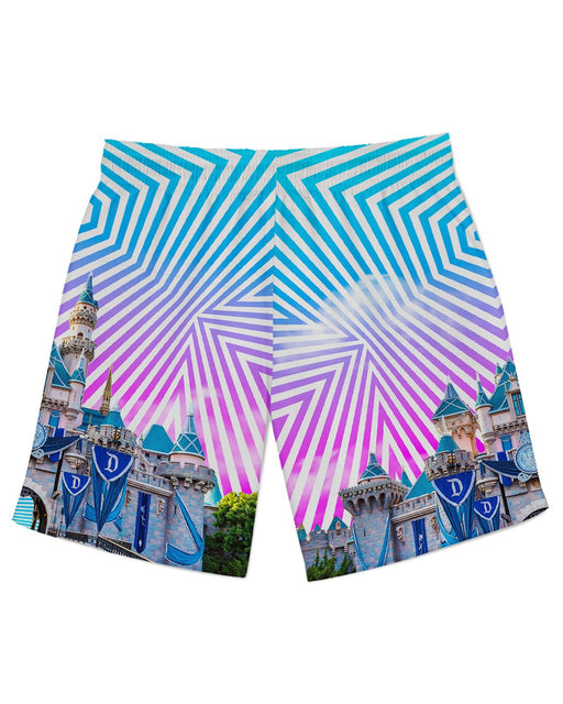 Sleeping Beauty Castle Athletic Shorts
