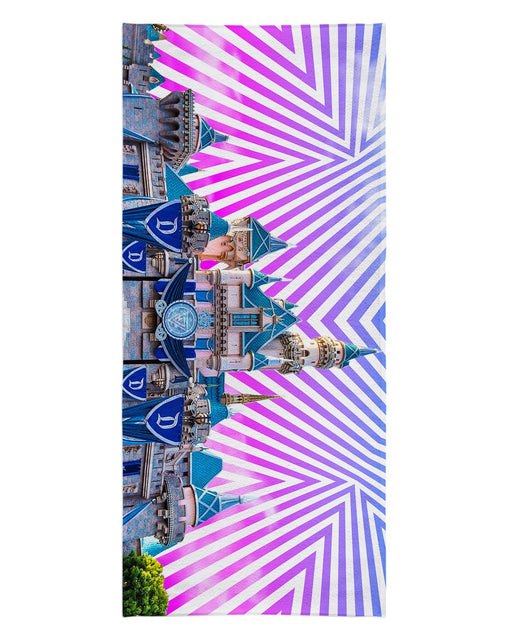 Sleeping Beauty Castle Beach Towel