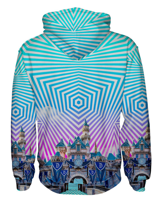 Sleeping Beauty Castle Pullover Hoodie