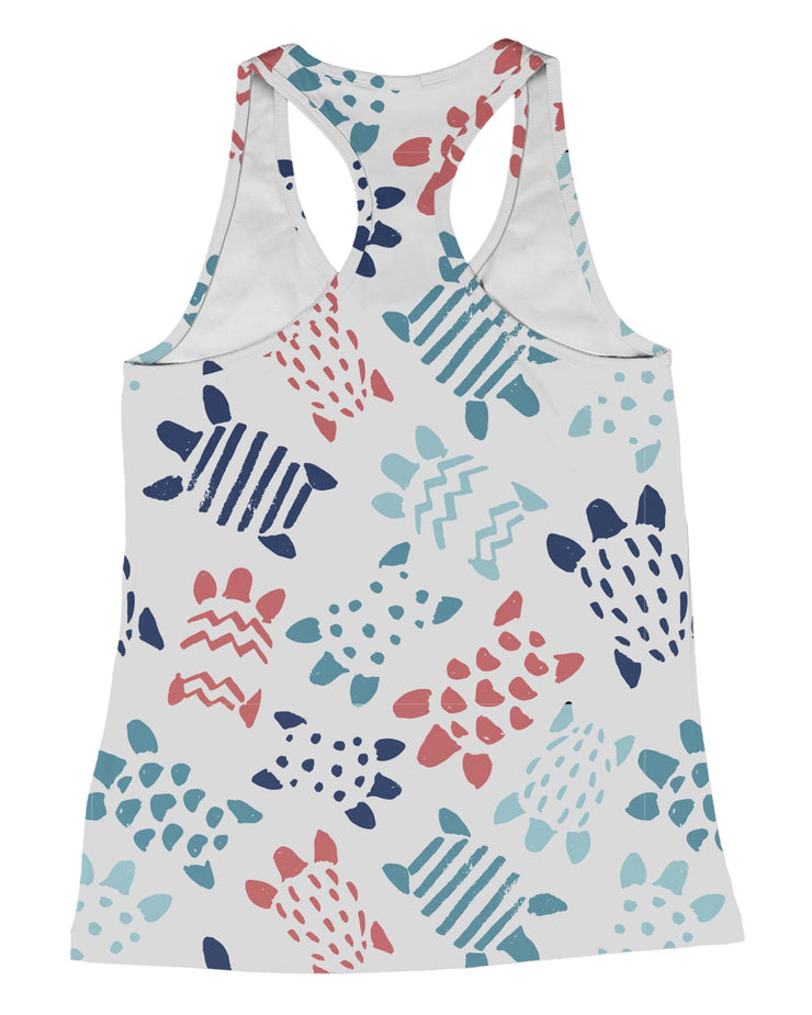 Simple Turtles Racerback-Tank