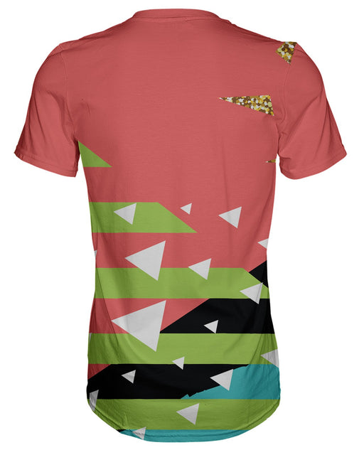 Retro Dojo Salmon T-shirt