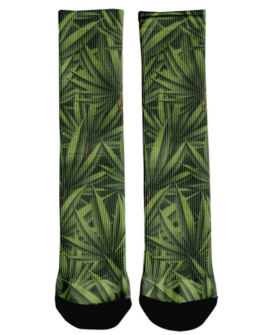 3D Weed printed all over in HD on premium fabric. Handmade in California.