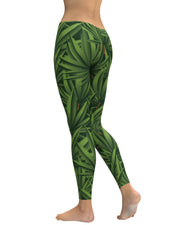 3D Weed Leggings