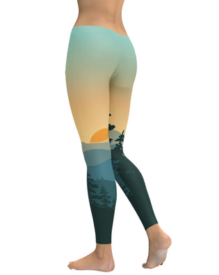 Adventure Sunrise Leggings