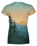 Adventure Sunrise Womens T-shirt