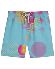 Retro Dojo Circles Athletic Shorts