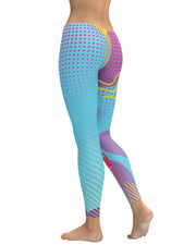 Retro Dojo Circles Leggings