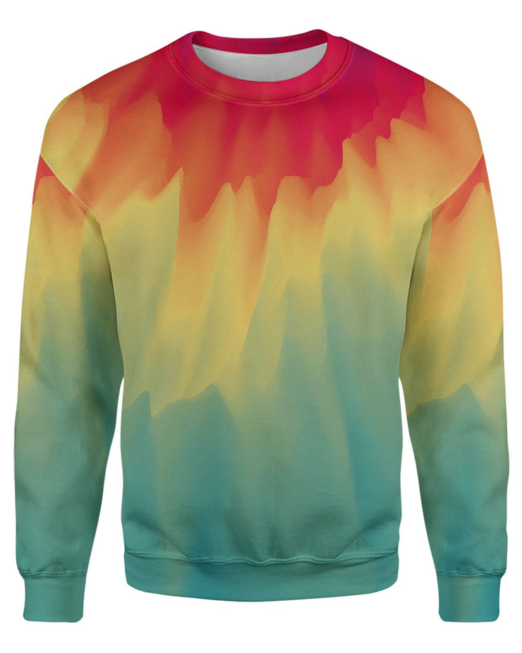 Watercolor Drip Sweatshirt