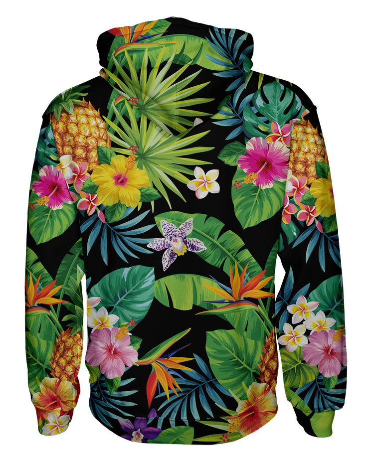 Tropical Pineapples Women's Pullover Hoodie