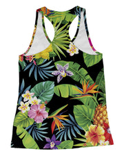 Tropical Pineapples Racerback-Tank