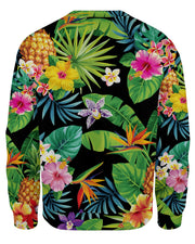 Tropical Pineapples Women's Sweatshirt