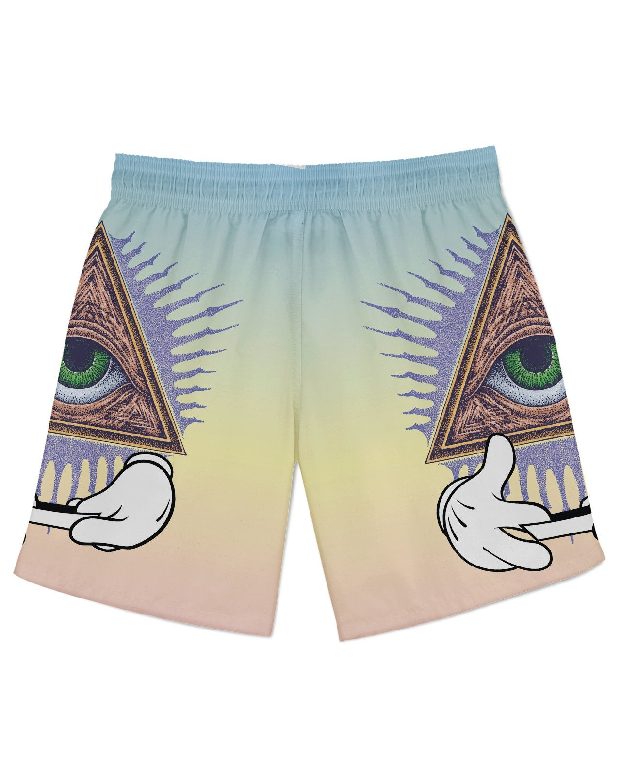 Illuminati Rolling Athletic Shorts