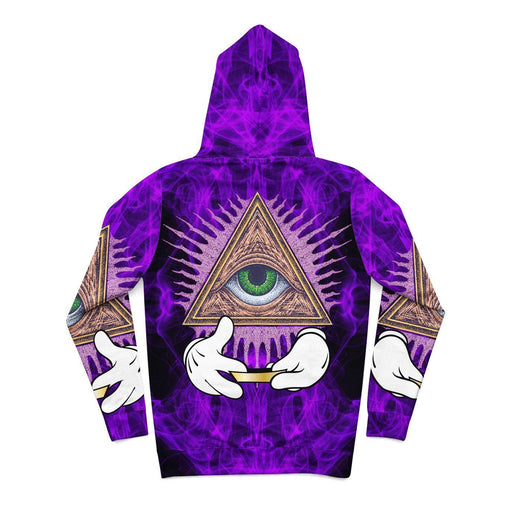 Illuminati Rolling Gold Papers Hoodie