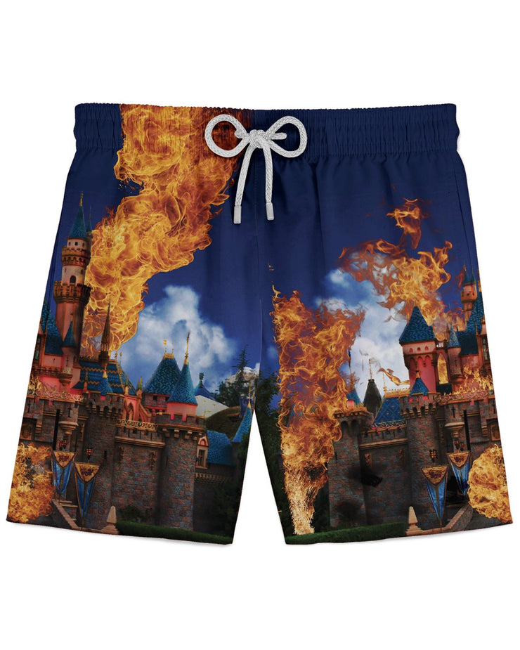 Hottest Place on Earth Athletic Shorts