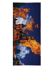 Hottest Place on Earth Beach Towel