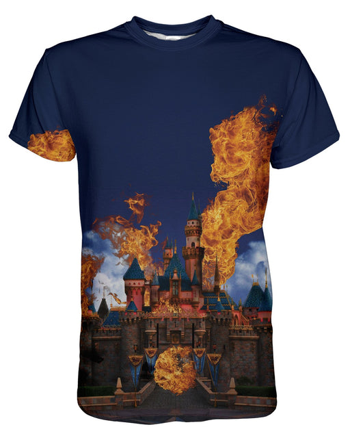 Hottest Place on Earth printed all over in HD on premium fabric. Handmade in California.