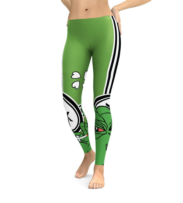 Pepe Smokes Leggings