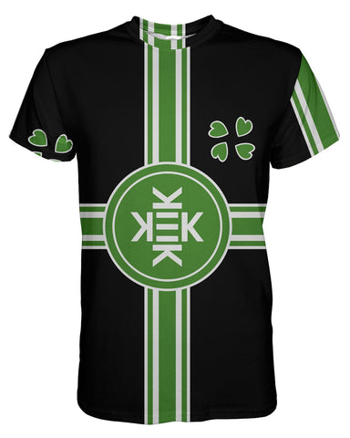 Republic of Kekistan Black printed all over in HD on premium fabric. Handmade in California.