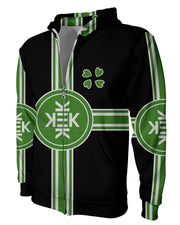 Republic of Kekistan Black Zip Hoodie