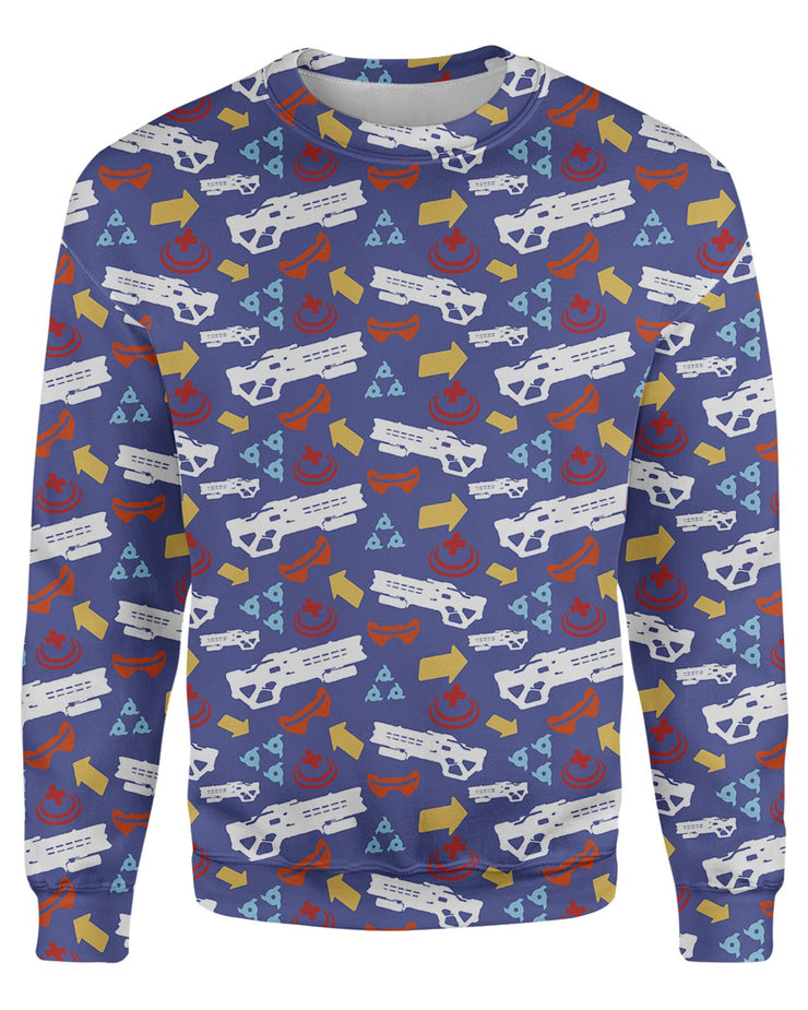 Soldier 76 Pattern Sweatshirt