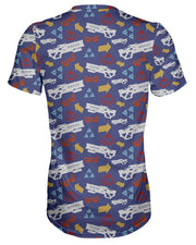 Soldier 76 Pattern T-shirt