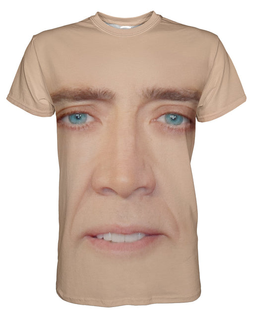 Nicholas Cage printed all over in HD on premium fabric. Handmade in California.