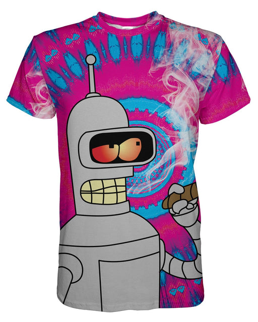Blazin Bender Tye Dye printed all over in HD on premium fabric. Handmade in California.