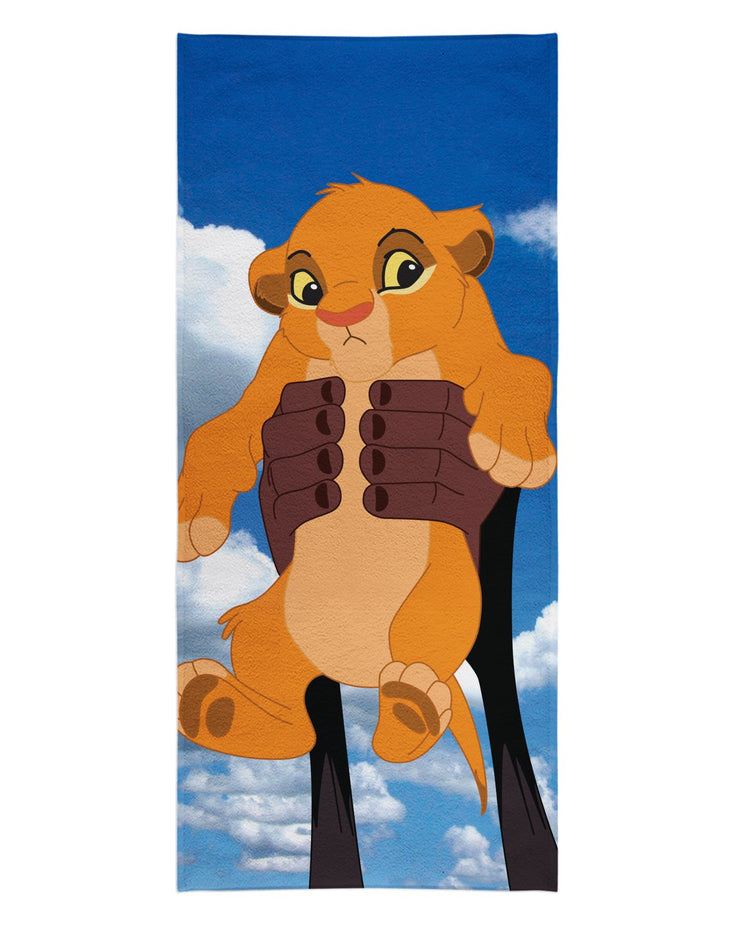 Baby Simba Beach Towel