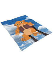 Baby Simba Fluffy Micro Fleece Throw Blanket