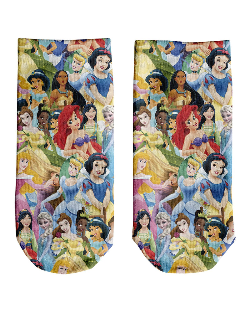 Disney Princesses Ankle Socks