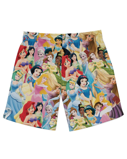 Disney Princesses Athletic Shorts