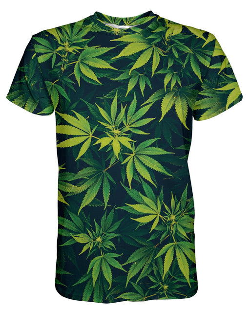 Weed Wall printed all over in HD on premium fabric. Handmade in California.