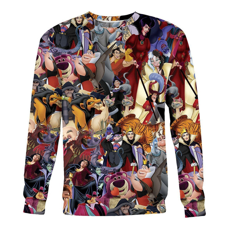 Evil Villains Sweatshirt