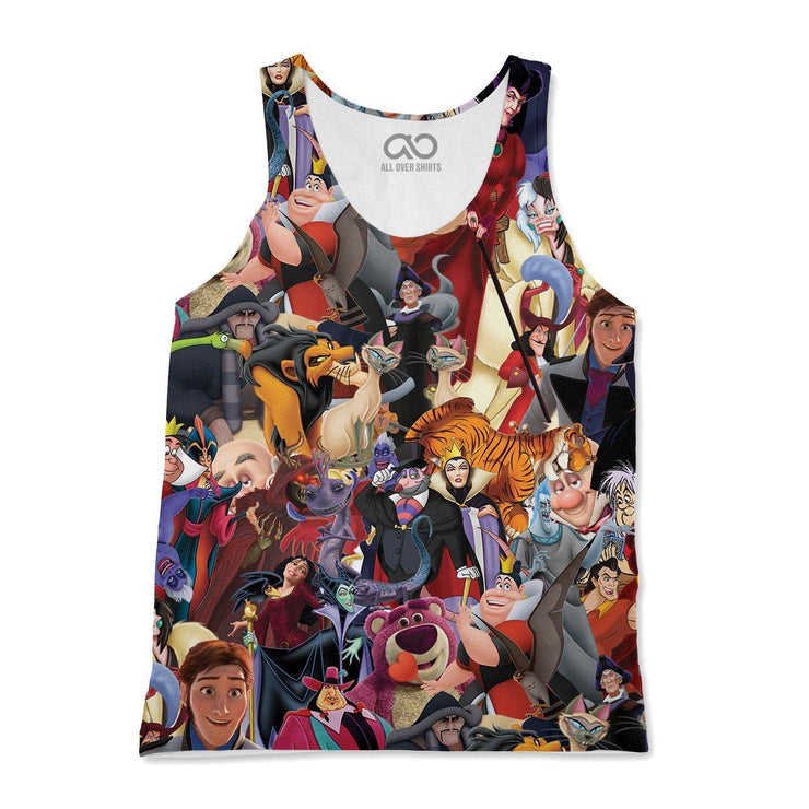 Evil Villains Tank-Top