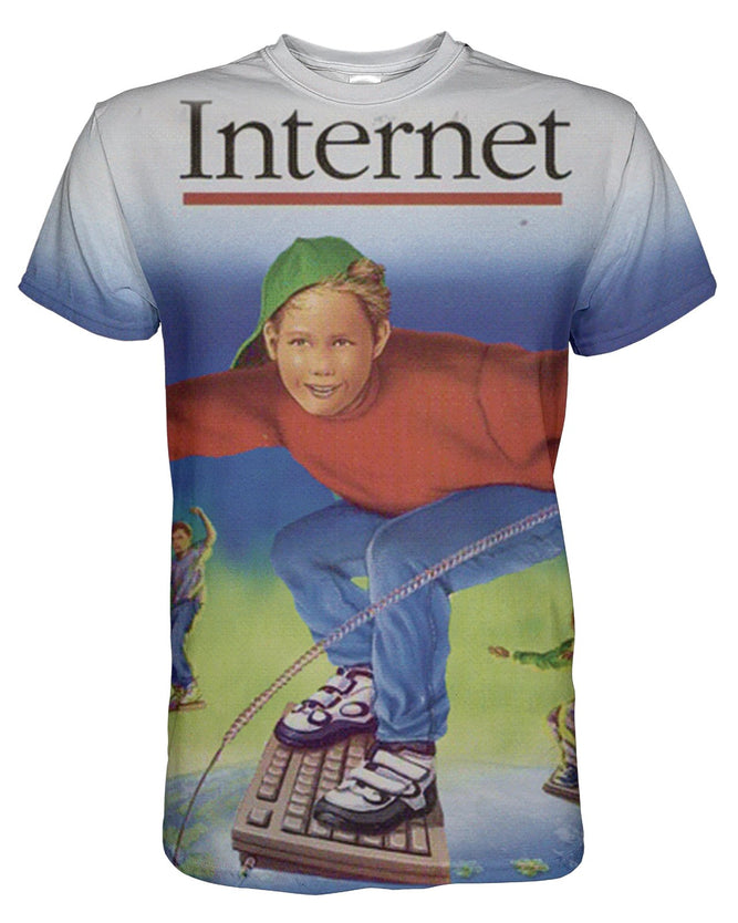 Internet printed all over in HD on premium fabric. Handmade in California.