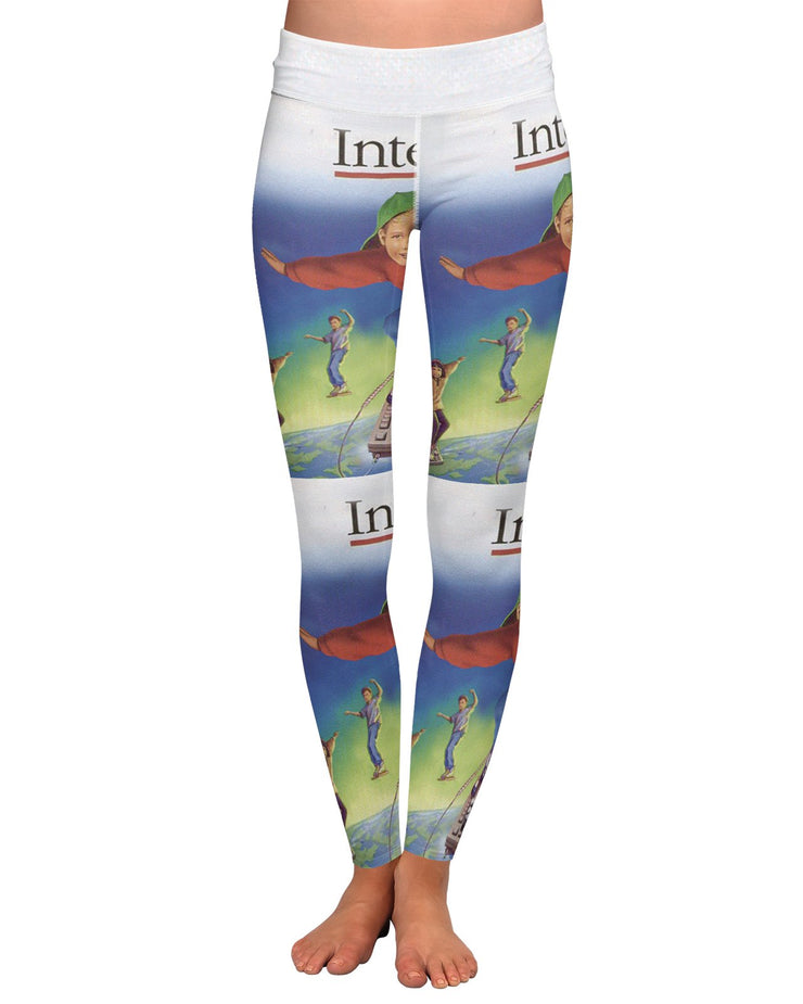 Internet Yoga Leggings