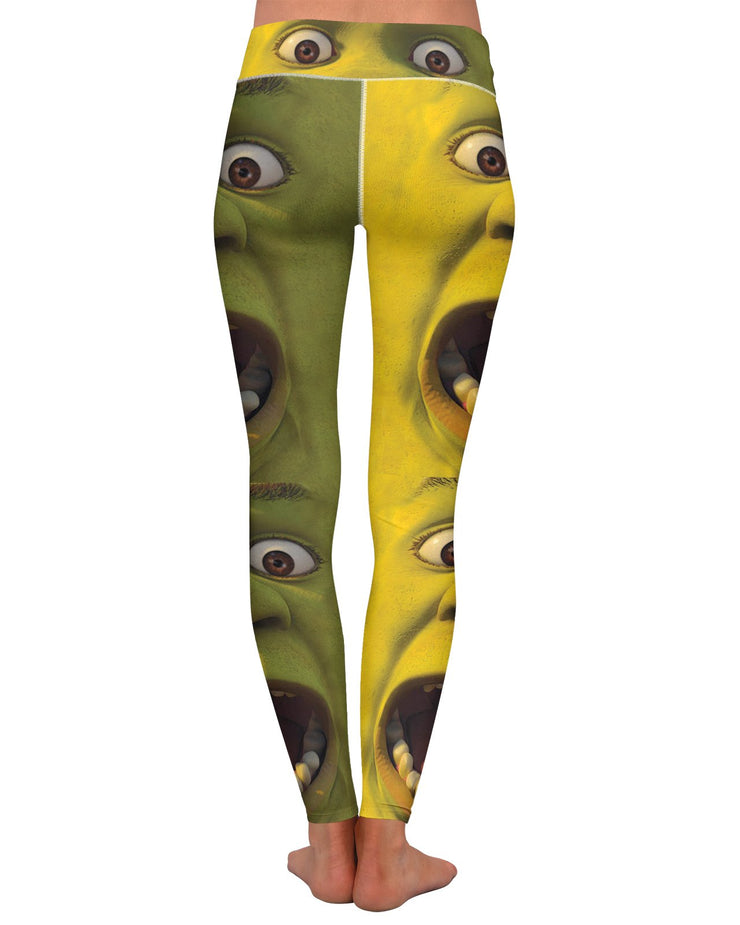 Shrek Yoga Leggings