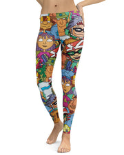 Rocket Power Leggings