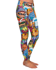 Rocket Power Yoga Leggings