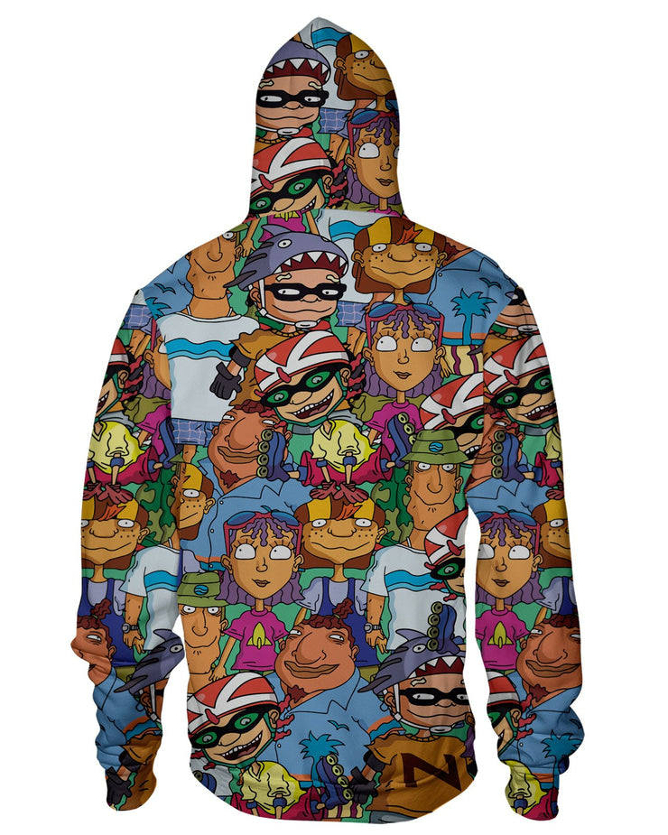 Rocket Power Zip Hoodie