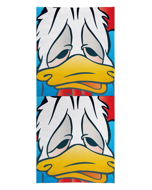 Lazy Donald Beach Towel