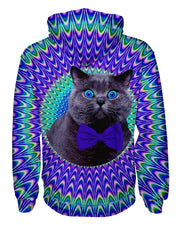 Crazy Cat Pullover Hoodie