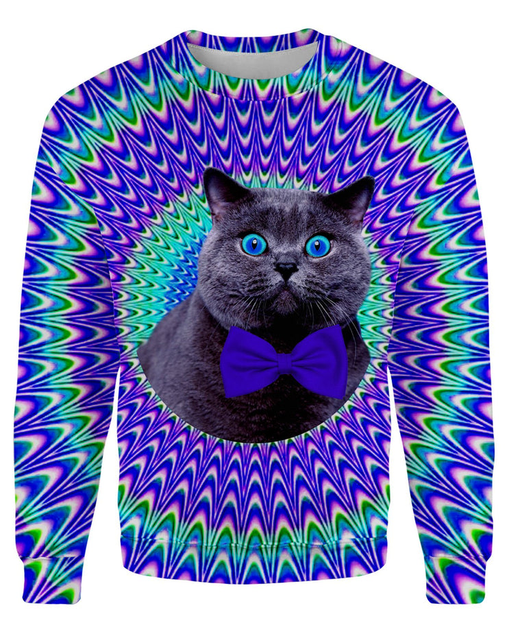 Crazy Cat Sweatshirt