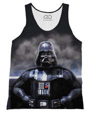 Darth Fader printed all over in HD on premium fabric. Handmade in California.