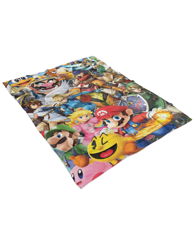 Super Smash Bros Ultimate Fluffy Blanket