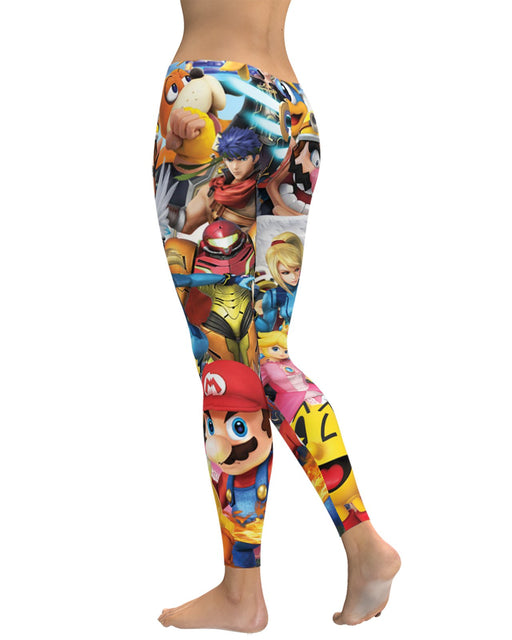 Super Smash Bros Ultimate Leggings