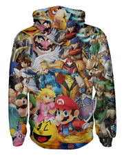 Super Smash Bros Ultimate Zip Hoodie