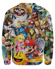 Super Smash Bros Ultimate Sweatshirt